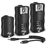 (2 Trigger Pack) Altura Photo Wireless Flash Trigger with Remote Shutter Release for Nikon DF D3200 D3100 D3300 D5000 D5100 D5200 D5300 D7000 D7100 D600 D610 D750 D90
