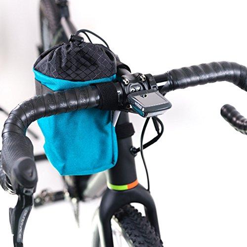Road Runner Bags Fahrrad-Fototasche Large Point N Shooter türkis Lenkertasche (Das Fahrrad Runner)
