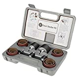 25pcs kit tamburo levigatura con scatola libera con 10 pezzi maniche fini e 10 pezzi maniche grosse e 5 pezzi tamburo in gomma per utensile rotante Dremel