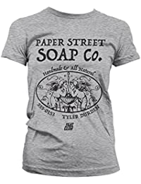 f801ce2f8694d Fight Club Officially Licensed Paper Street Soap Company Women T-Shirt