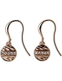 Pilgrim Women Gold Plated Dangle & Drop Earrings - 141742023
