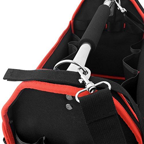 Werkzeugtasche Montagetasche Werkzeugbox Werkzeugkasten mit Schultergurt – XL – Modellauswahl - 5