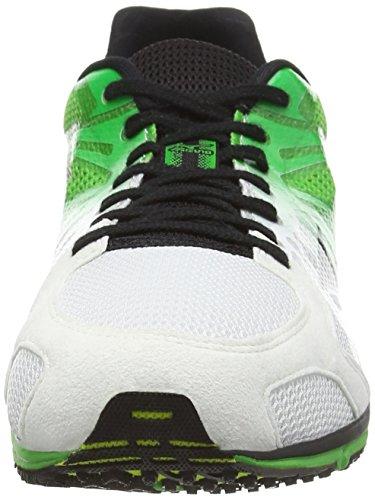Mizuno Wave Ekiden 9, Scarpe Da Corsa da uomo bianco (white/black/classic green)