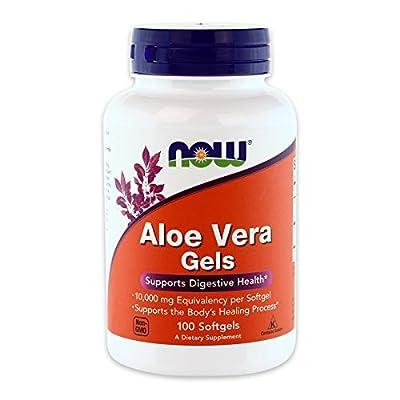 Aloe Vera Gels, 100 Softgels - Now Foods - UK Seller from NOW Foods