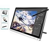 Huion® GT-220 Ecran Tablette Graphique 21.5'', avec Stylet, Ecran IPS avec Résolution Full HD (Argent)