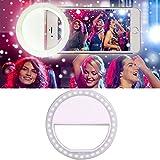 Vandot Universal LED Ring Selfie Clip On Light For Iphone 6