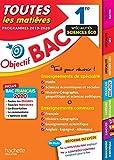 Objectif Bac 1re Enseignements communs + Spécialités Maths-SES-Histoire-Géo BAC 2020...