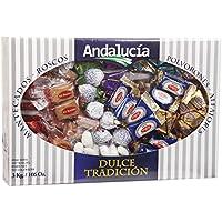Assortimento di Mantecados y Polvorones di Andalucia, confezione maxi da 3kg
