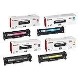 Originale Canon i-SENSYS 718Bulk Pack cartuccia toner ciano, magenta, giallo, nero-2660B002/2662B005/2659B002/2661B002per LBP7200CDN/mfc8330/lbp8350cdn Bulk Pack-Scatola Marrone