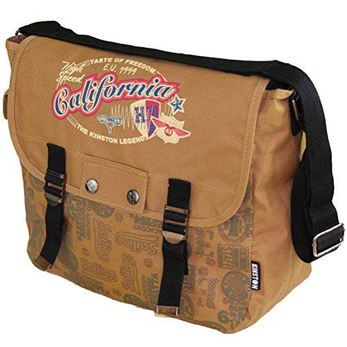 Indians–Schulranzen–Umhängetasche–Junior–Trend - Camel one size (Camel Charlotte)