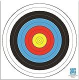 WA Papier-Scheibenauflage-Set - 80cm-Kreisdurchmesser - 15 Blatt
