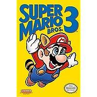 "Pyramid International ""NES Cover Super Mario Bros. 3"" Maxi Poster, Multi-Colour, 61 x 91.5 x 1.3 cm"