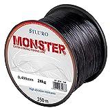 Robinson Angelschnur Siluro Monster Welsschnur Wels monofile 250m Spule (0,400 mm / 28kg)