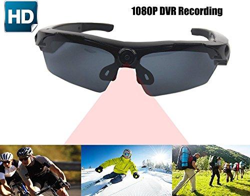 JOYCAM Gafas de sol con Cámara Full HD 1080P Grabación de Video Polarized UV400 Gafas de Vídeo con Cámara para Deportes al Aire Libre