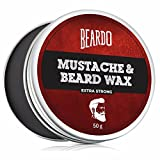 Best Moustache Waxes - Beardo Beard and Mustache Wax Extra Strong Review