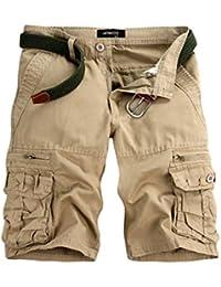 Cloud ROM Cargo Shorts Cloom Chino Shorts Herren Bermuda Shorts Herren  Sommerhosen Herren Shorts Herren Sommer 95109ebd4e