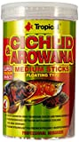 Tropical Cichlid & Arowana Medium Sticks - Farbverstärkende Futtersticks mit Astaxanthin, 1er Pack (1 x 1 l)