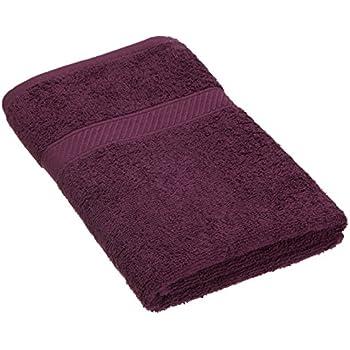 Trident Everyday Plus Solid 400 GSM Cotton Bath Towel - Black Currant