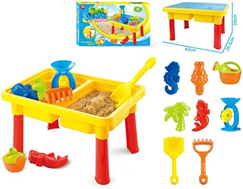 Toys Bhoomi 2-in-1 Beach Sand & Water Play Table for...