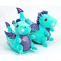 Dragon LED Light Up Slipper for Children UK Child Size 11-3