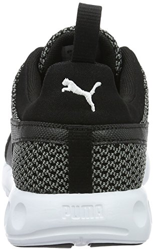 Puma Carson Knitted, Chaussures de Running Compétition Homme Gris (Quiet Shade-puma Black 01)