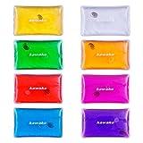 Taschenwärmer 8er Set Multicolor - Rechteck Matte Handwärmer Heizpad Firebag