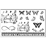Bling Arte Temporal Tatuajes tatuajes...