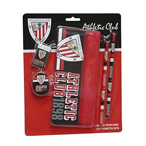 Athletic Club Bilbao-Set Schreibwaren in Blister mit Kulturtasche (144/4) Athletic-set