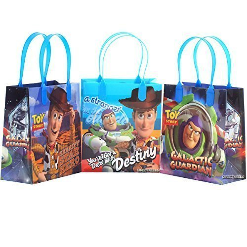 sable Party Favor Goodie Small Gift Bags (12 Bags) by Disney ()