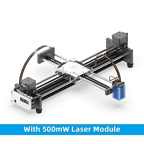 Plotter Schreibroboter Schriftsteller, DIY Montiert, Desktop XY Plotter Stift Zeichnung Roboter Zeichnung Maschine Malerei Handschrift Roboter Kit 100-240 V HXC 500MW Laser
