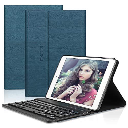 Hülle für ipad Mini 5, ipad Mini 4, ipad Mini 3, ipad Mini 2, ipad Mini 1- ipad mini case- Wireless Bluetooth Tastatur- QWERTZ- Magnetisch Schlaf/Wach- iPad 7.9 Inch Tastatur Hülle ()