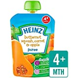 Heinz Lisse Courge Musquée, Carottes Et Pommes 4 Mths + 100G - Paquet de 2