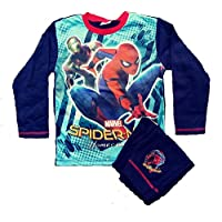 Kids Boys Official Marvel Spiderman 2 Piece Pyjamas Set Long Top and Bottoms Age 4 5 6 7 8 9 10 Years