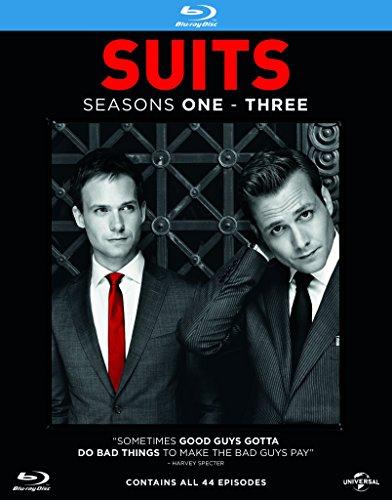 Preisvergleich Produktbild Suits - Series 1-3 [11 Blu-rays] (UK-Import mit deutscher Tonspur)