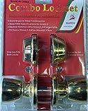 2 Serrures laiton en applique interieur Verrou tubulaire à larder 2 entrées +serrure interieur Verrou doré tubulaire + serrure interieur Verrou tubulaire à larder 2 entrées