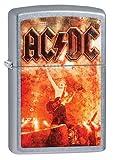 Zippo Lighter - AC DC Street Chrome NEW [Sports]
