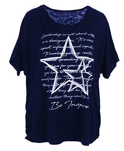 Emma & Giovanni Shirt/Oberteile Kurzarm - Damen Blau