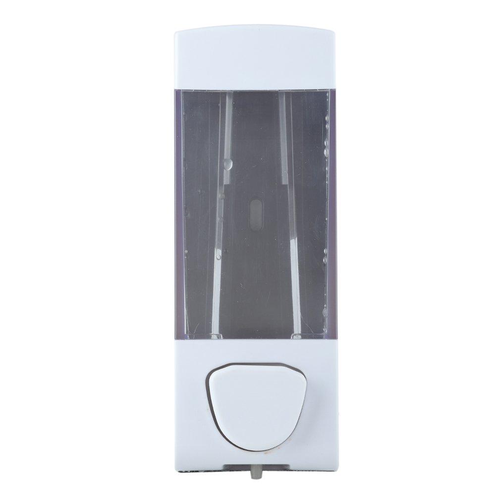 FTVOGUE – Dispensador manual de champú, jabón líquido o loción, 350 ml, montaje en pared de cuarto de baño