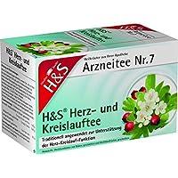 H&S Herz Kreislauf Tee Filterbeutel 20 St preisvergleich bei billige-tabletten.eu