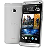 FoneM8® - New 2013 HTC One 100% Clear Gel Case Skin TPU Cover - Includes Screen Protector and Microfibre Cloth