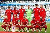 Andy Evans Fotos England Foto Fußball Team bei der WM 2018 in Russland Landschaft Foto Farbbild Fine Art Fotodruck Fotografie Geschenk Mitbringsel, Multi, 30,5 x 20,3 cm
