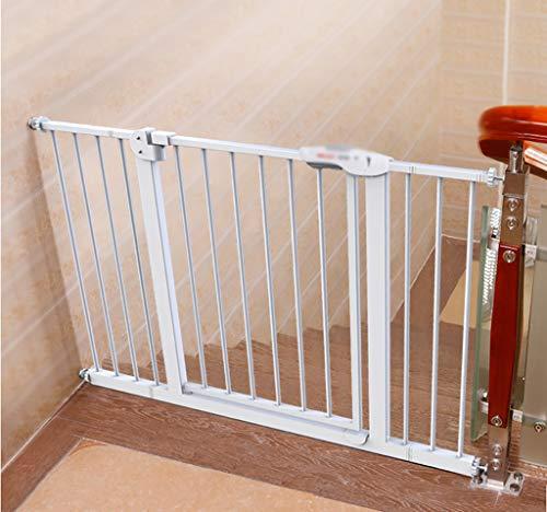 Treppenschutz Baby And Pet Gate Ausziehbar, Automatische Schließung, Zwei Richtungen, Druckmontage Für Räume Zwischen 66-194 Cm (größe : 125-134cm) (Pet-gate Große)