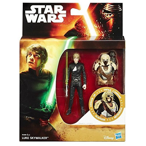 Hasbro Star Wars Armour Up Figur Luke Skywalker B3889