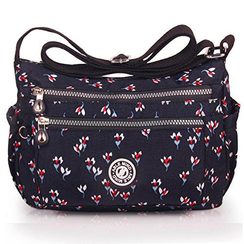 ABLE anti-splash water Shoulder Bag Casual Handbag Messenger bag Crossbody Bags Multi-functional poc