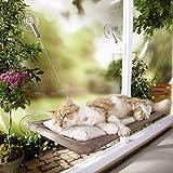 Jiyaru Gato cama de montaje en la ventana Cama Hammock para mascotas Sunny Seat Lavable Cover Bed