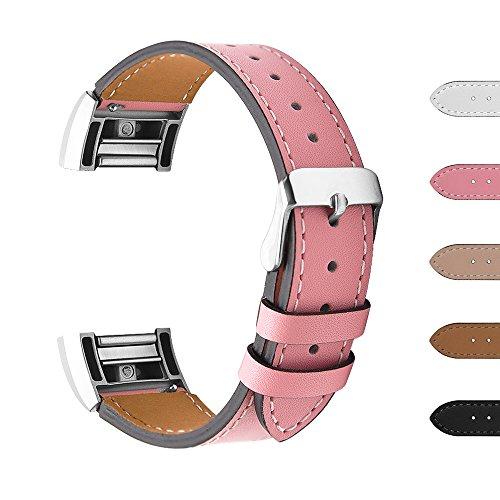 """Fitbit Charge 2 Ersatz Armbänd, BeneStellar Ersatz Milanese Band für Fitbit Charge 2 (Rosa, Large (6.5""""-9.0""""))"""