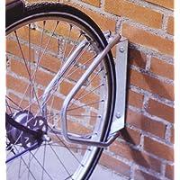YWWH - Aparca bicicletas de pared ajustable (incluye tornillos), color gris