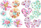 Children's wall Stickers,Flower Stickers,Repositionable,Girl Rooms