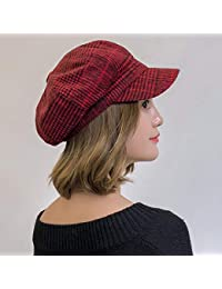 Amazon.it  quadro - Rosso   Cappelli e cappellini   Accessori ... a6a309e3471f