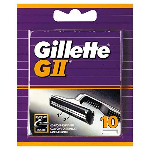 Gillette GII Rasierklingen 10er
